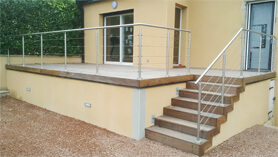 Terrasse c ble vente en ligne de c bles pour terrasse fips accastillage fips for Cable pour terrasse