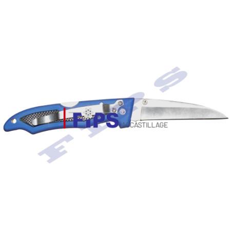 Couteau avec manche en plastique L175 mm et lame en INOX 304
