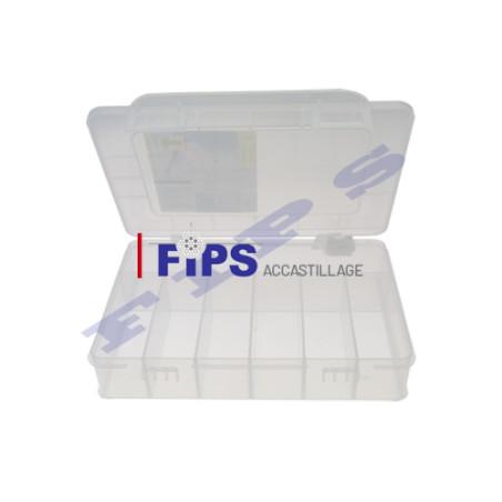 Boîte avec 7 compartiments