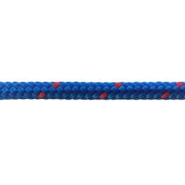 Garcette en polypropylène bleue et rouge diamètre 6 et 8 mm