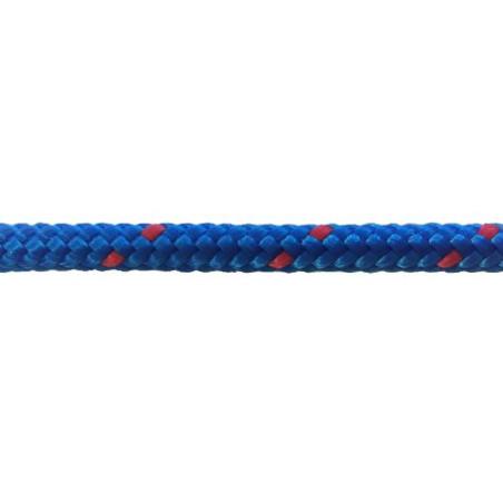 Garcette en polypropylène bleue et rouge