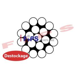 Destockage - Câble 1x19 en inox 316 diamètre 8 mm - 6.50 mètres