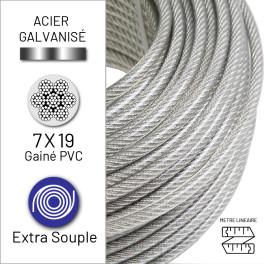 Câble extra-souple 7x19 en...