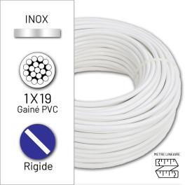 Câble rigide 1x19 en inox...