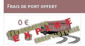Frais de ports offerts