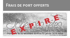 frais de port offerts noel 2018 Expiré