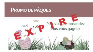 Promo de Pâques