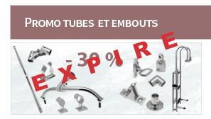 Promo tubes et embouts