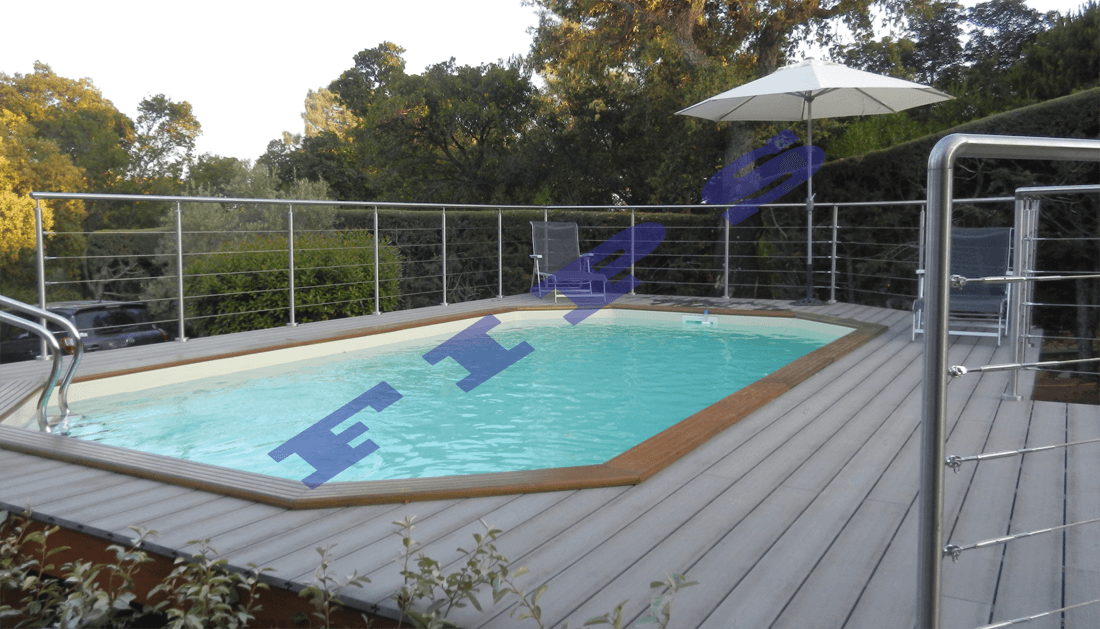 Contour de piscine accastillage fips for Piscine la garde